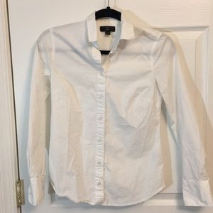 Fitted jcrew blouse